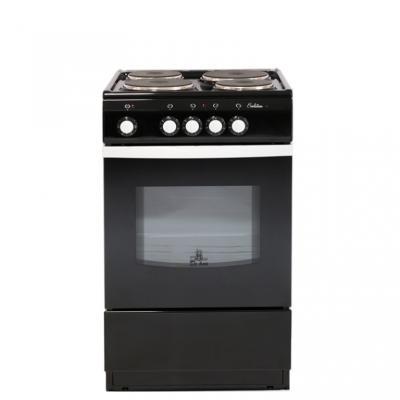 Электрическая плита De Luxe 5004.12э черный