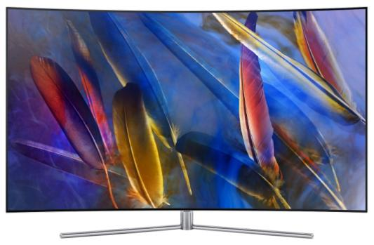 Телевизор Samsung QE55Q7CAMUX серебристый