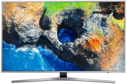 Телевизор Samsung UE40MU6400UX серебристый телевизор samsung ue28j4100ak