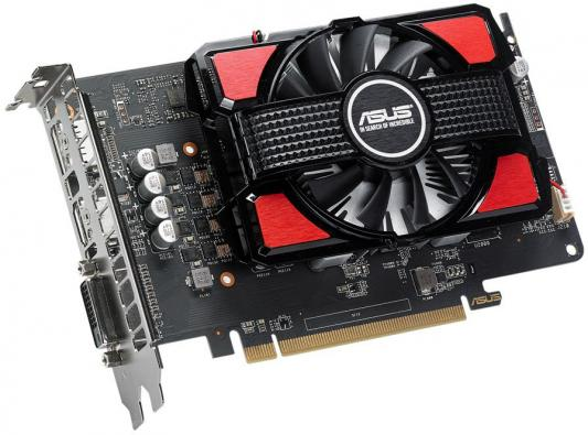 Видеокарта 2048Mb ASUS RX 550 PCI-E DVI HDMI DP RX550-2G Retail видеокарта 2048mb powercolor hd5450 pci e dvi hdmi ax5450 2gbk3 shv7e retail