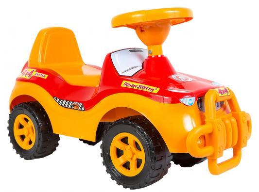 Каталка-машинка Orion Джипик 105 оранжевый от 1 года пластик