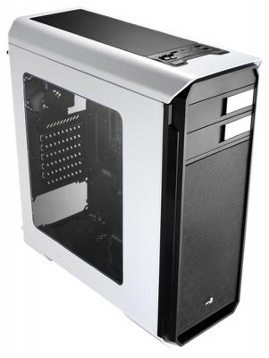 Корпус ATX Aerocool Aero-500 Window Без БП белый корпус aerocool aero 500 window white без бп