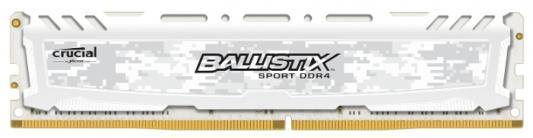 Оперативная память 8Gb (1x8Gb) PC4-21300 2666MHz DDR4 DIMM CL16 Crucial BLS8G4D26BFSCK оперативная память crucial bls2cp4g3d1609ds1s00ceu