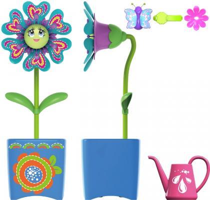 Интерактивная игрушка Silverlit Волшебный цветок с заколкой для волос и волшебным жучком от 3 лет в ассортименте
