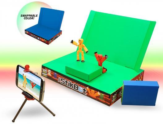 Игровой набор STIKBOT Анимационная студия со сценой TST617
