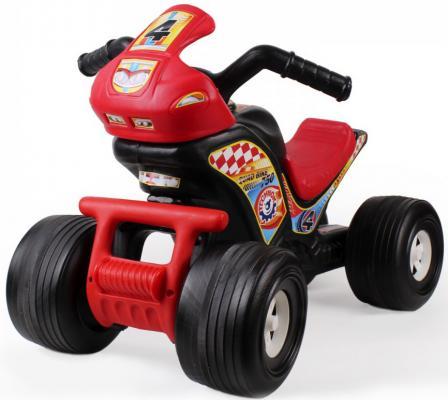 Каталка-машинка ТехноК Квадроцикл 4104 черно-красный от 2 лет пластик