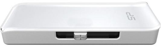 Флешка USB 128Gb Silicon Power Z30 USB3.1 SP128GBLU3Z30V1W белый от 123.ru