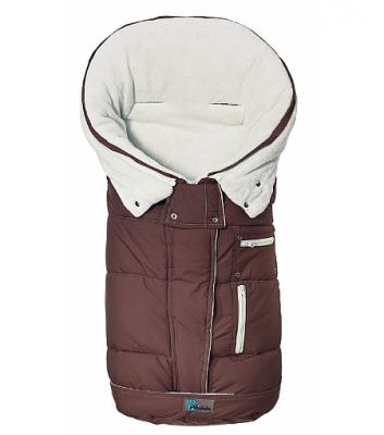 Зимний конверт Altabebe Clima Guard (AL2274C/brown-whitewash) конверт детский altabebe altabebe конверт в коляску зимний alpin pram