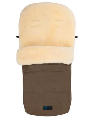 Зимний конверт Altabebe Lambskin Footmuff (MT2200-LP/brown 75) конверт детский altabebe altabebe конверт в коляску зимний lambskin footmuff серый