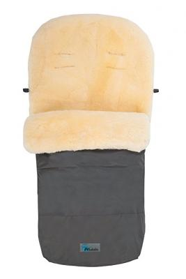 Зимний конверт Altabebe Lambskin Footmuff (MT2200-LP/dark grey 64) конверт детский altabebe altabebe конверт в коляску зимний lambskin footmuff коричневый