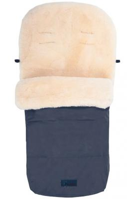 Зимний конверт Altabebe Lambskin Footmuff (MT2200-LP/navy blue 62) конверт детский altabebe altabebe конверт в коляску зимний alpin pram