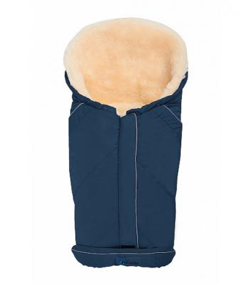 Зимний конверт Altabebe Lambskin Car Seat Bag (MT2003-LP/navy blue 62) конверт детский altabebe altabebe конверт в коляску зимний alpin pram