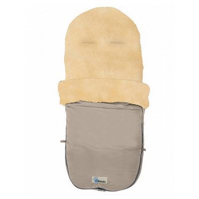 Зимний конверт Altabebe Lambskin Bugaboo Footmuff (MT2280-LP/beige 61) altabebe altabebe конверт в коляску зимний lambskin footmuff черный