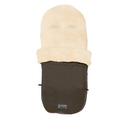 Зимний конверт Altabebe Lambskin Bugaboo Footmuff (MT2280-LP/brown 75) зимний конверт altabebe nordic pram