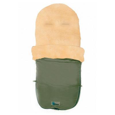 Зимний конверт Altabebe Lambskin Bugaboo Footmuff (MT2280-LP/olive 66) конверт детский altabebe altabebe конверт в коляску зимний lambskin footmuff синий