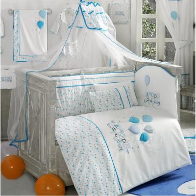 Комплект постельного белья 3 предмета KidBoo Happy Birthday (blue)