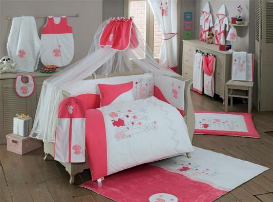 Комплект постельного белья 3 предмета KidBoo Elephants (pink) kidboo my animals 3 предмета