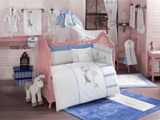 Комплект постельного белья 3 предмета KidBoo Little Farmer (blue) kidboo little voyager
