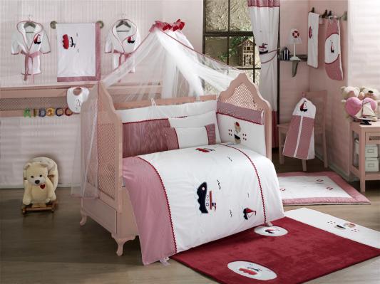 Комплект постельного белья 3 предмета KidBoo Little Voyager kidboo my animals 3 предмета