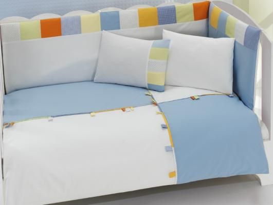 Комплект постельного белья 3 предмета KidBoo Loony (blue) kidboo kidboo халат little pilot махровый белый