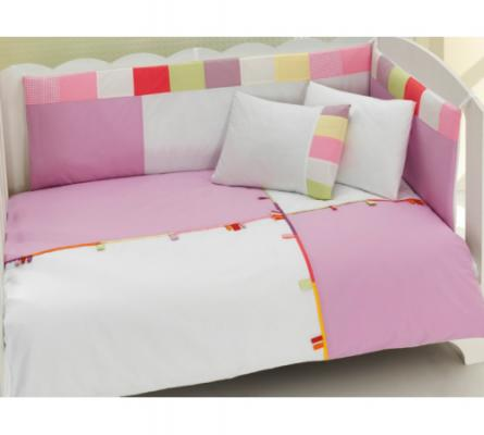 Комплект постельного белья 3 предмета KidBoo Loony (pink)