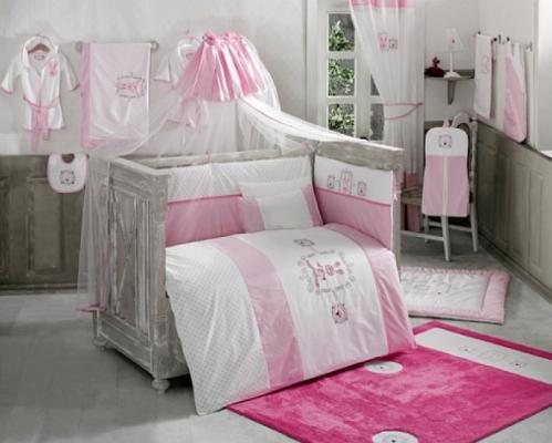 Комплект постельного белья 3 предмета KidBoo Rabbitto (pink)