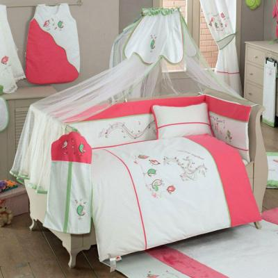 Комплект постельного белья 3 предмета KidBoo Singer Birds kidboo my animals 3 предмета