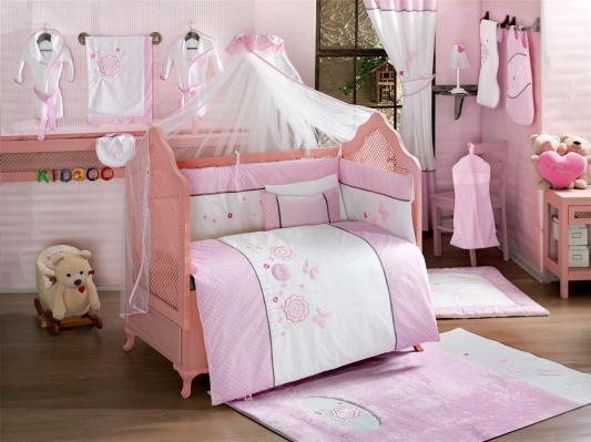 Комплект постельного белья 3 предмета KidBoo Sweet Flowers kidboo my animals 3 предмета