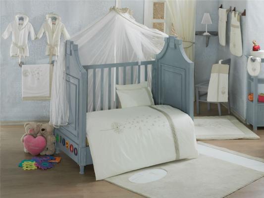 Комплект постельного белья 3 предмета KidBoo Blossom Linen (vanilla)