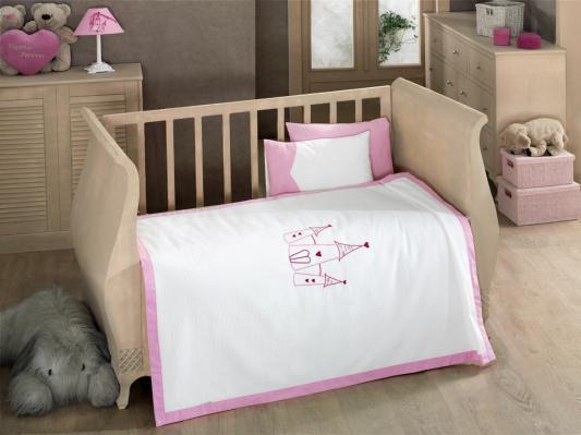 Комплект постельного белья 4 предмета с вафельным покрывалом KidBoo Little Princess kidboo little voyager