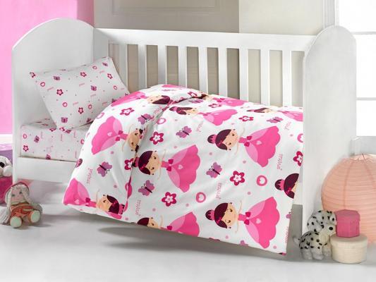 Постельный сет 6 предметов Ups Pups Принцесса постельный сет 6 предметов kidboo самолёт красный