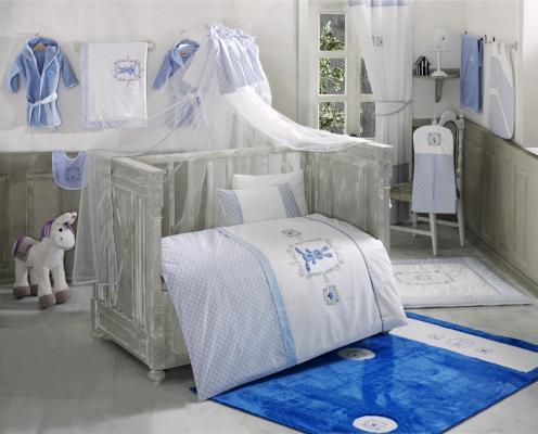 Постельный сет 4 предмета KidBoo Rabitto (blue) постельный сет 4 предмета kidboo rabitto blue