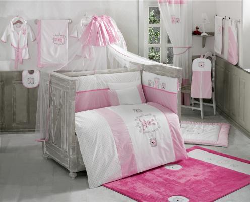 Постельный сет 4 предмета KidBoo Rabitto (pink) постельный сет 4 предмета kidboo rabitto blue