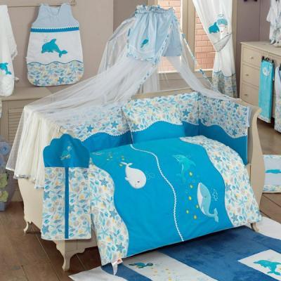 Постельный сет 4 предмета KidBoo Sea Life постельное белье kidboo blue marine 4 предмета