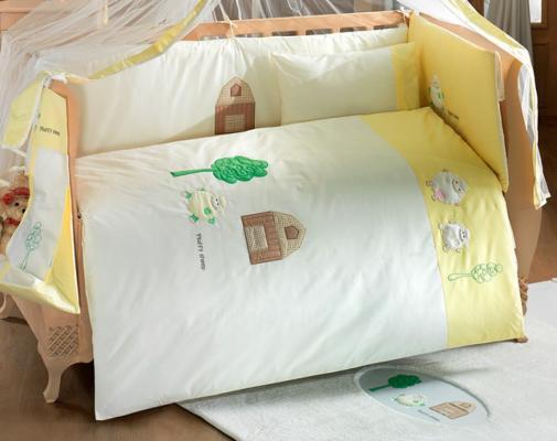 Комплект из 4-ти предметов серии Fluffy Sheep постельное белье kidboo blue marine 4 предмета