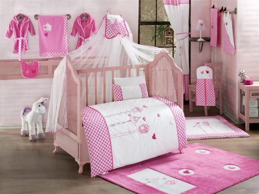 Постельный сет 6 предметов KidBoo Lovely Birds (pink)