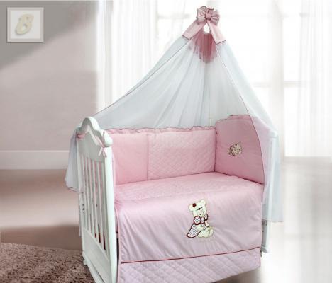 Постельный сет 6 предметов Bombus Мишка Фаворитка карман на кроватку bombus светик розовый