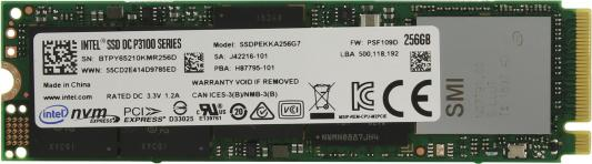 все цены на  Твердотельный накопитель SSD M.2 256Gb Intel DC P3100 Series PCI-E SSDPEKKA256G701 953766  онлайн