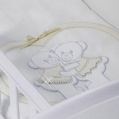 Набор в люльку для близнецов Feretti Baby Beddings Culla Gemell (avorio)