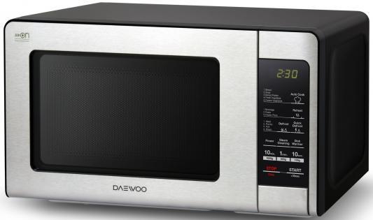 СВЧ DAEWOO KOR-664K 700 Вт чёрный серебристый недорого
