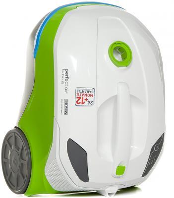 Пылесос Thomas Perfect Air Feel Fresh x3 сухая уборка белый зелёный пылесос thomas inox 1520 plus 786182