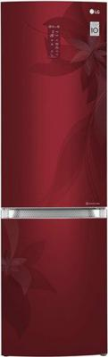 Холодильник LG GA-B499TGRF красный lg ga b489ymkz