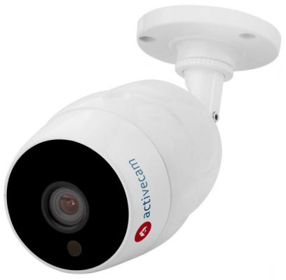 Камера IP ActiveCam AC-D2121IR3W CMOS 1/2.9 3.6 мм 1920 x 1080 H.264 Wi-Fi белый ip камера activecam ac d8101ir2