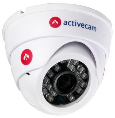 """Камера IP ActiveCam AC-D8101IR2W CMOS 1/4"""" 2.8 мм 1280 x 720 H.264 Wi-Fi белый"""