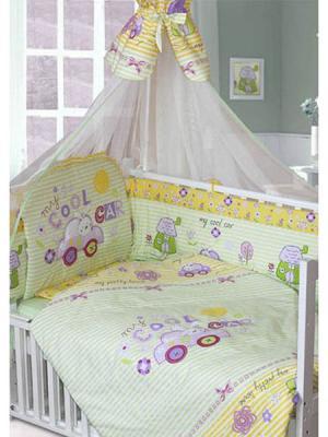 Комплект постельного белья Золотой Гусь Cool Car (зеленый) комплект постельного белья золотой гусь сладкий сон зеленый