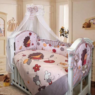Комплект в кроватку Золотой Гусь Ёжик Топа-Топ (бежевый) комплект в кроватку золотой гусь ежик топа топ 8 предметов розовый 1286