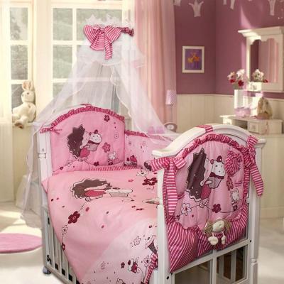 Комплект в кроватку Золотой Гусь Ёжик Топа-Топ (розовый) карман на кроватку bombus светик розовый