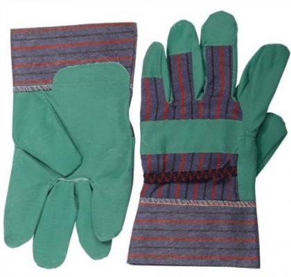 Перчатки Stayer Master рабочие искусственная кожа зеленый XL 1132-XL от 123.ru