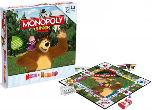 Настольная игра стратегическая HASBRO Монополия Маша и Медведь В94431210 hasbro hasbro настольная игра монополия маша и медведь