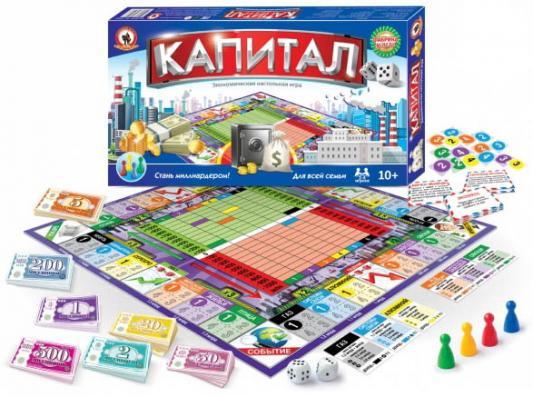 Настольная игра для вечеринки Русский Стиль Капитал  3497
